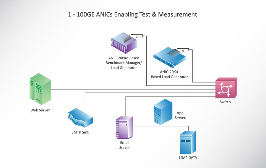 1 - 100GE ANICs Enabling Test & Measurement