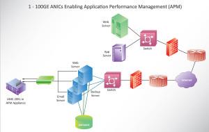 1 - 100GE ANICs Enabling Application Performance