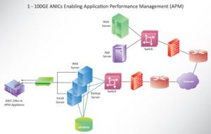 1 - 100GE ANICs Enabling Application Performance