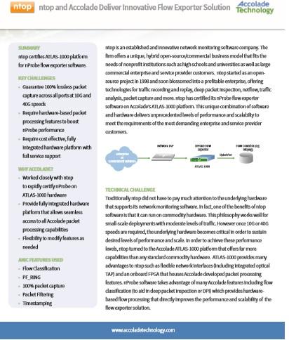ntop Accolade Technology Flow Exporter Case Study | Accolade