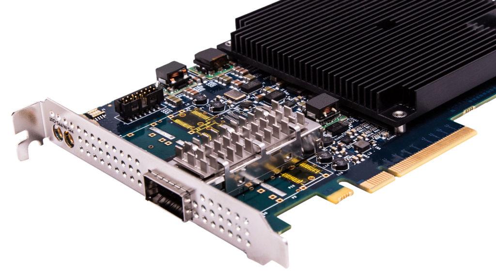 Single 40GE/4 X 10GE Gen 3 Host CPU Offload NIC